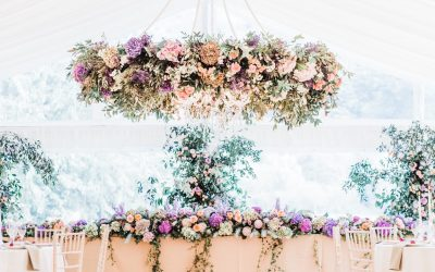 West Sussex wedding flowers – styling your marquee